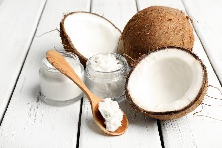 кокосы и масло