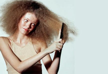 намагниченные волосы